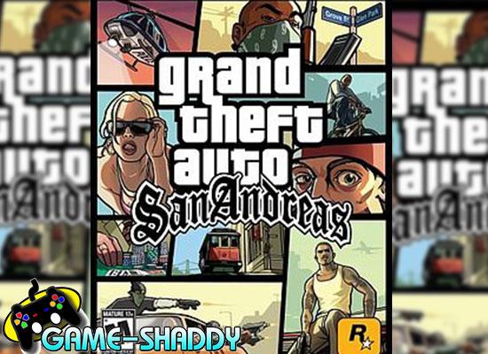 GTAแซนแอนเดรียส์ PS2